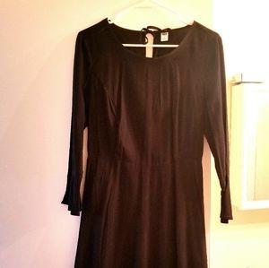 Black Long Sleeved Old Navy Dress